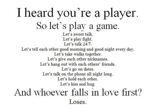 loves a game . wanna play ?