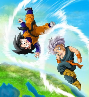 Trunks et goten