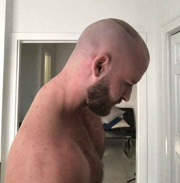 Profil recon et barbe