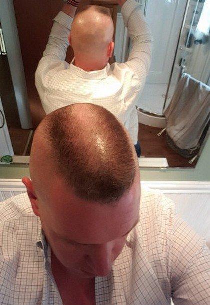 Brosse en fer rasé