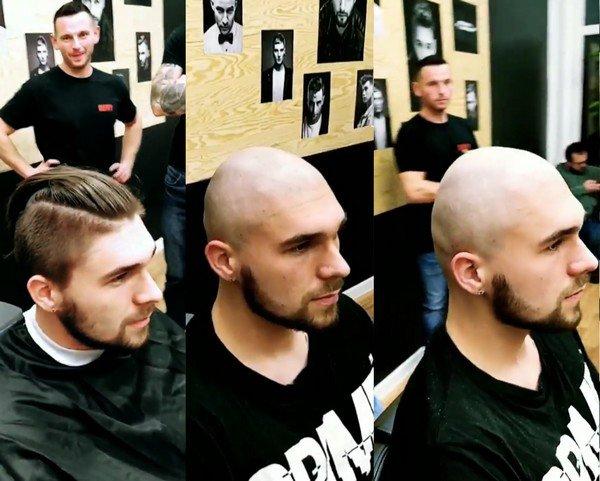 Un homme à mettre chauve pour le meilleur