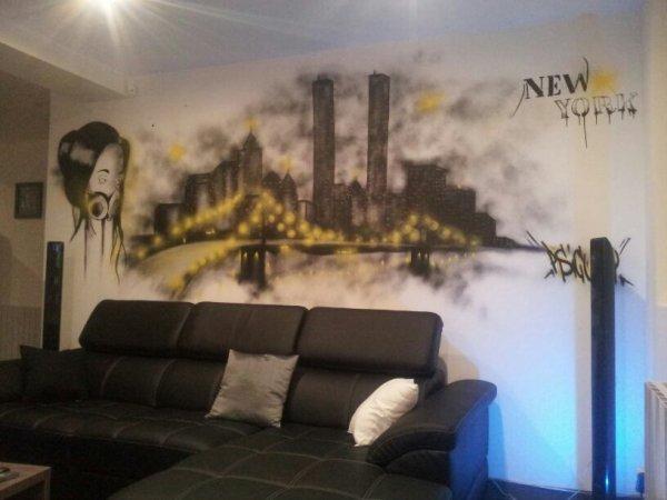 nouveau graff !!!!art de rueeee
