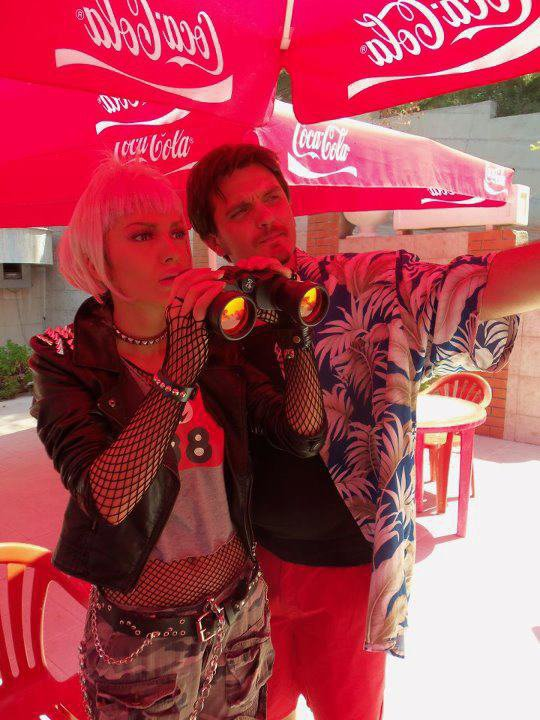 Adelina & Julian Deda gjate gjirimeve te klipit KU MA KE