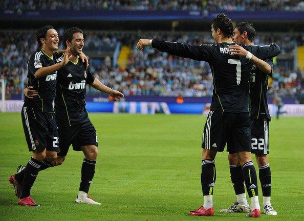 Malaga 1-4 Real Madrid