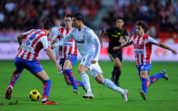 Sporting Gijon 0-1 Real Madrid