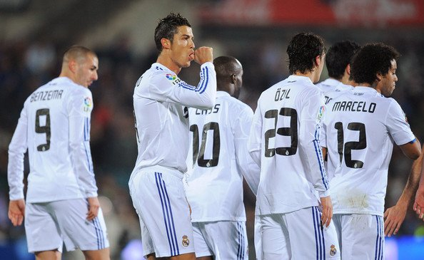 Getafe 2-3 Real Madrid