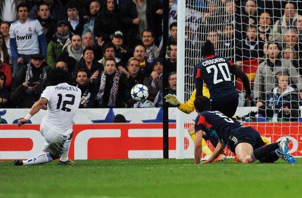 Real Madrid 3-0 Olympique Lyonnais