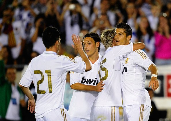 L.A Galaxy 1-4 Real Madrid