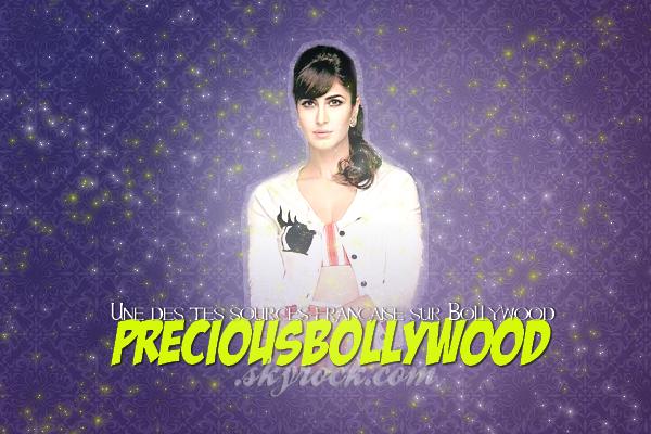 Bienvenue sur PreciousBollywood , ta source sur le cinéma indien Bollywood & ses actualités. Enjoy (l)