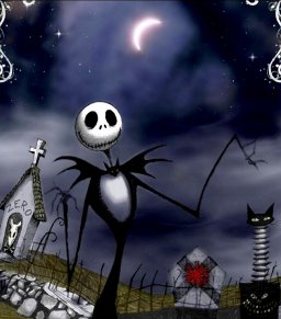 J'veux qu'on Baise sur ma Tombe ♫[ Photo: The Nightmare Before Christmas - Tim Burton ]