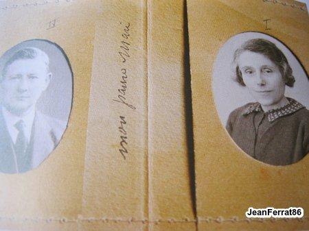 Etui fétiche de Mme TENENBAUM (mère de Jean FERRAT) en souvenir de MNACHA son mari
