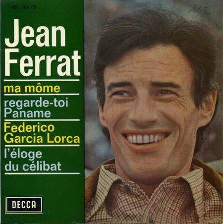 1961) Jean FERRAT  - Ma môme ( 45T)