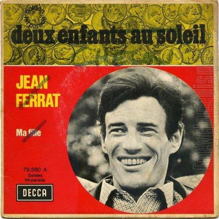 1961) Jean FERRAT  - Deux enfants au soleil ( version 2 titres )