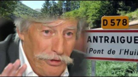 """Jean FERRAT vous présente """" Antraigues """"  son village Ardéchois"""