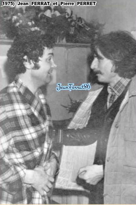 1975) Jean FERRAT et Pierre PERRET