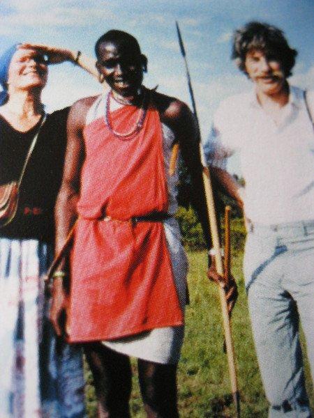 Jean et Colette FERRAT au Kénya