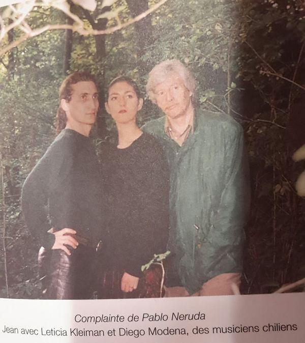 Jean FERRAT - Complainte de Pablo Néruda ( d'après un poème de Louis ARAGON d'Aragon)