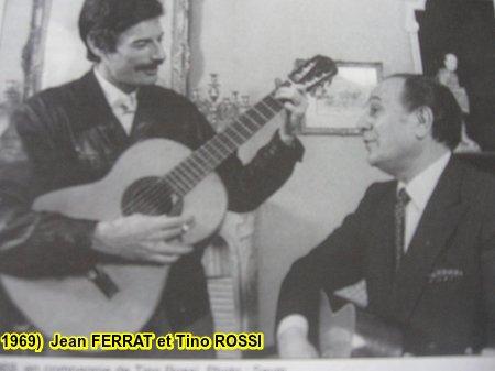 1969) Jean FERRAT et Tino ROSSI