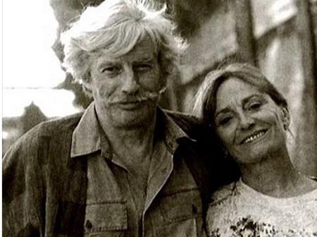 1991) Jean et Colette FERRAT à Paris