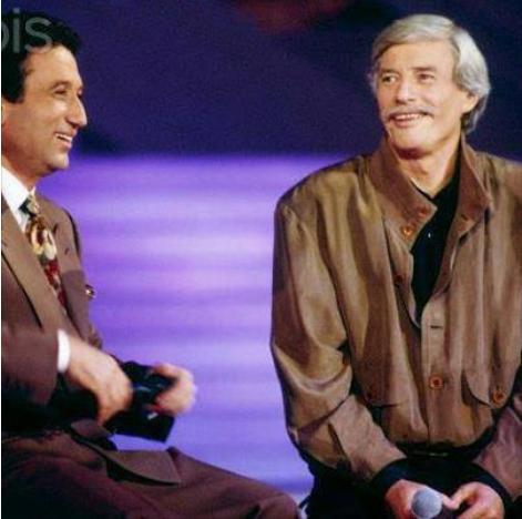 """1991) Jean FERRAT lors de l'émission de Michel DRUCKER"""" FERRAT 91 """""""