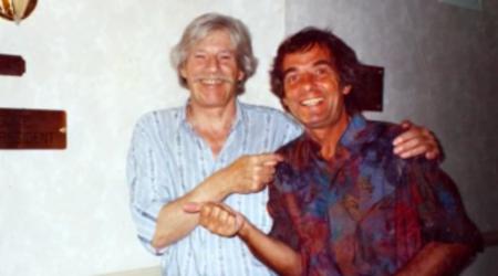 1980) Jean FERRAT avec Gérard MEYS son producteur