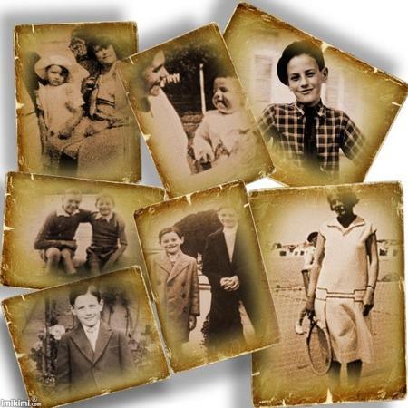 Photos d'enfance de Jean FERRAT