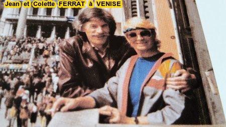 Jean et Colette FERRAT à Venise