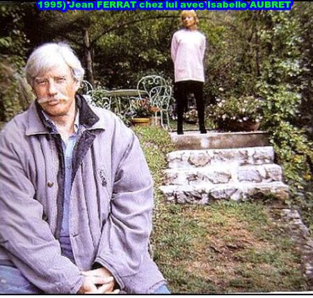 1995) Jean FERRAT chez lui avec Isabelle AUBRET