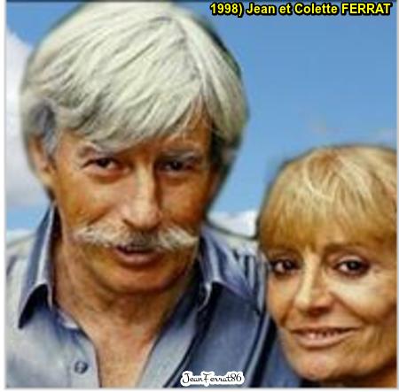 1995 et 1998)  Jean et Colette FERRAT