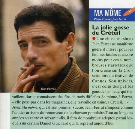 1980) Article de presse sur Jean FERRAT