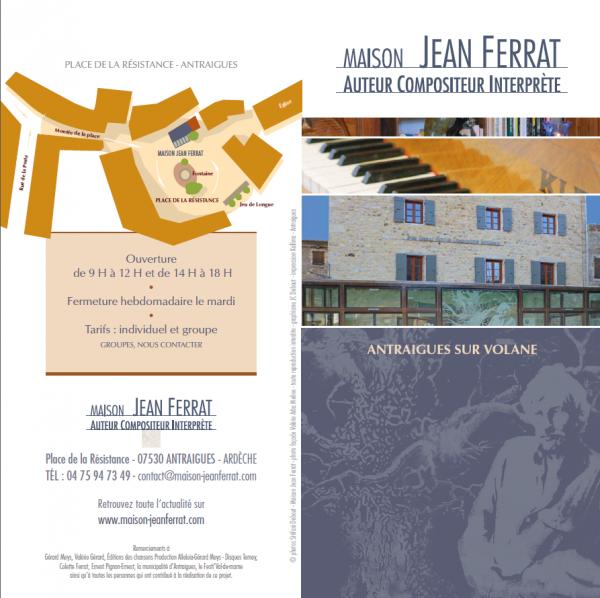2013 la maison jean ferrat antraigues sur volane 07530 for Antraigues sur volane maison de jean ferrat