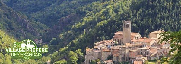 2014) Village préféré des Français en 2014 - Antraigues-sur-Volane (07530) le village de Jean FERRAT
