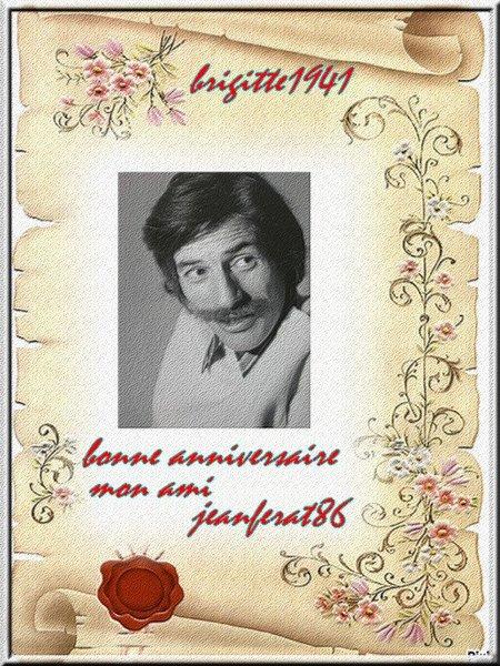 Cadeaux d'Anniversaire de mes ami(es) Mapa62 - Brigitte1941 - MoiChristiane - TheWomanClass - Léone14