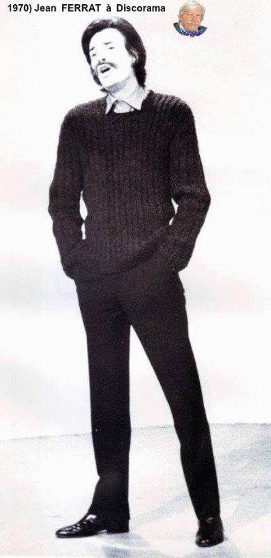 1970)  Jean  FERRAT à Discorama