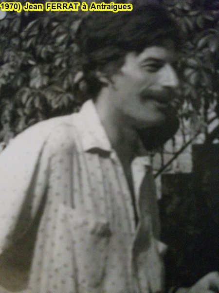 1970)  Jean FERRAT à Antraigues