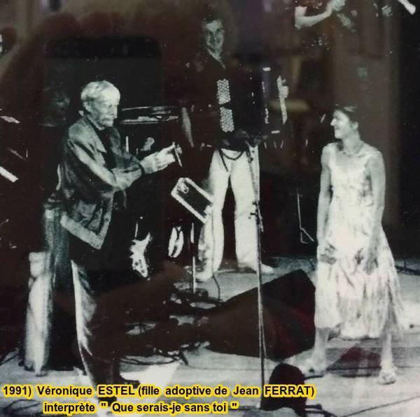 1991) Véronique ESTEL (Fille de Jean FERRAT)  Que serais-je sans toi (poème d'Aragon)