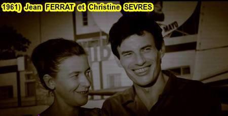 1961)  Jean  FERRAT et  Christine  SEVRES
