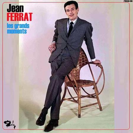 1964)  Jean  FERRAT  - Les grands moments ( Disques BARCLAY)
