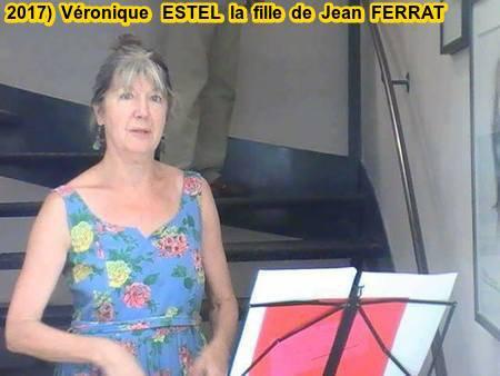 2017) Véronique ESTEL (Fille de Christine SEVRES sa 1ère épouse )