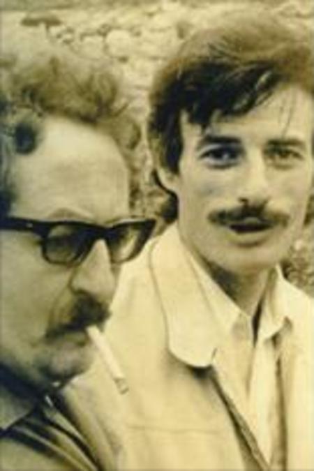 1968) Jean FERRAT et Jean SAUSSAC à Antraigues-sur-Volane (07530)