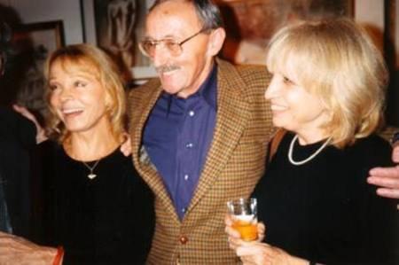 1995) Guy THOMAS (parolier de Jean FERRAT) avec Isabelle AUBRET et Francesca SOLLEVILLE