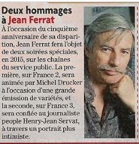2015) Articles de presse.....FERRAT DEJA 5 ANS......