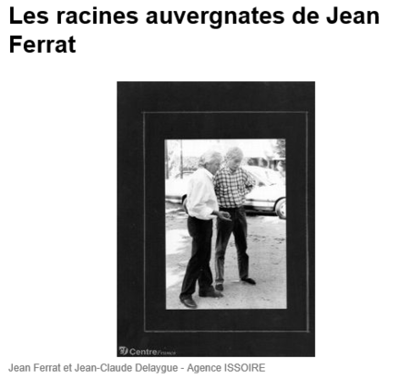2010) Les racines Auvergnates de Jean FERRAT