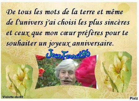 Cadeaux d'anniversaire de mes  ami(es) Fee-des-bois-kdo - Oo-O-Fil-Du-Temps-Oo - Violette-du-80 -