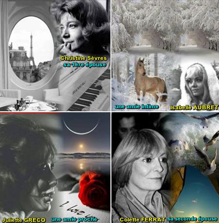 Les femmes qui ont comptés le plus pour Jean FERRAT