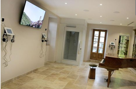 """2013) Inauguration de la """" Maison Jean FERRAT """" le 12 mars 2013 à Antraigues (07530)"""