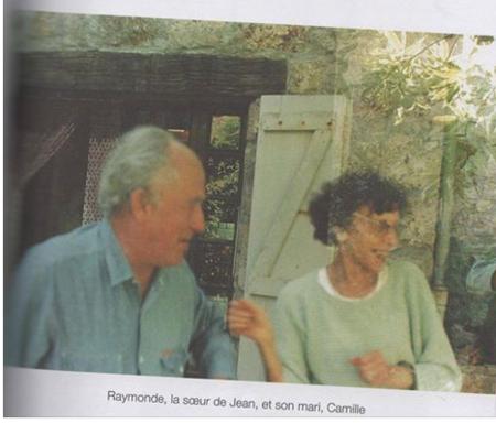 Raymonde la soeur de Jean FERRAT et son mari Camille