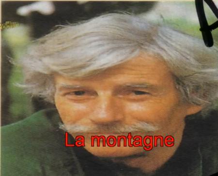 Pochette Karaoké de Jean FERRAT - La montagne