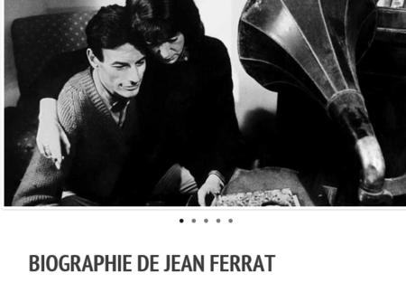 BIOGRAPHIE DE JEAN FERRAT