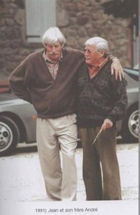 1991) Jean FERRAT et son frère André